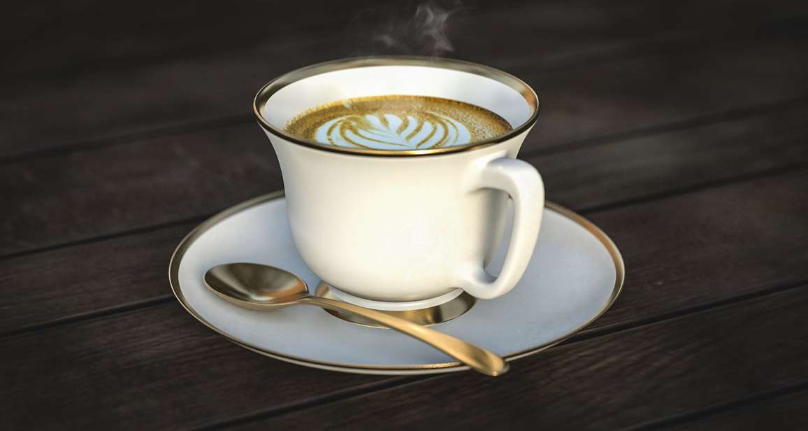 drinking coffee will help keep your heart nice and healthy